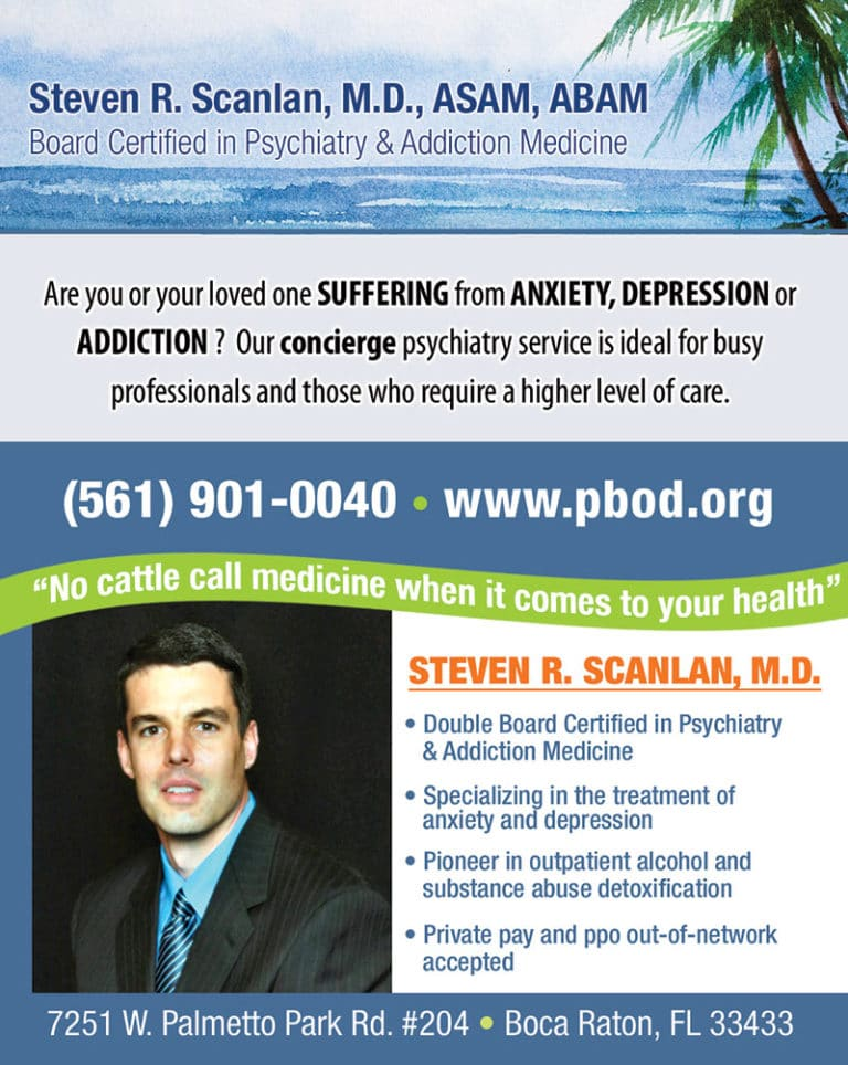 Palm Beach Outpatient Detox Florida Psychiatry for Addiction